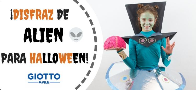 Disfraz de Alien para Halloween