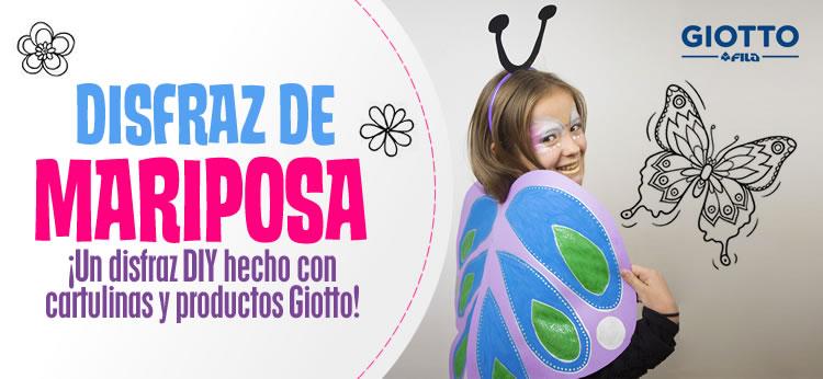 Disfraz de mariposa DIY para Carnaval
