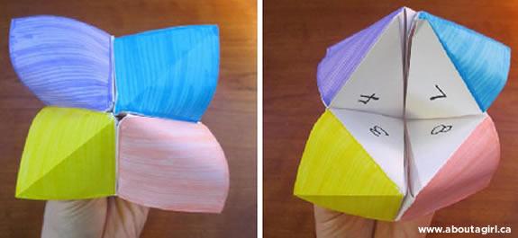 Jugamos al Comecocos de Origami
