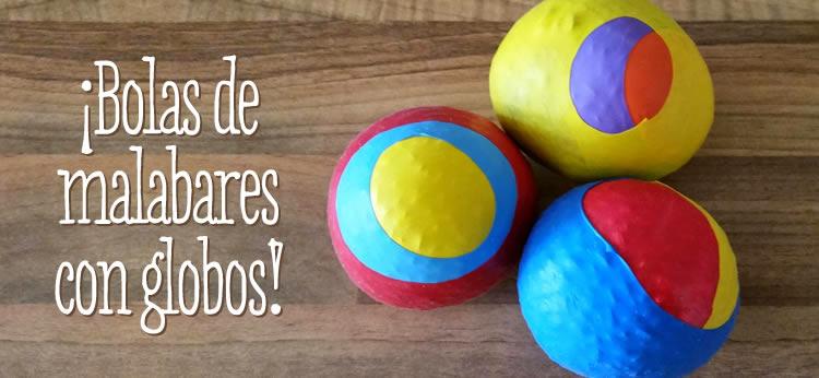 Creamos nuestras propias bolas de malabares DIY