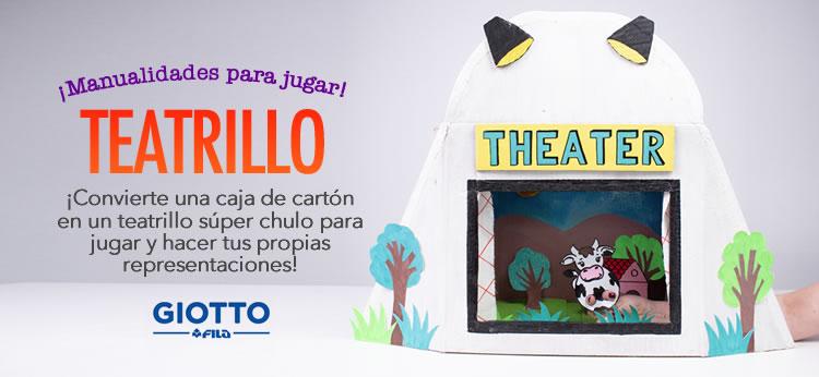 Manualidades para niños: Cómo hacer un teatrillo infantil