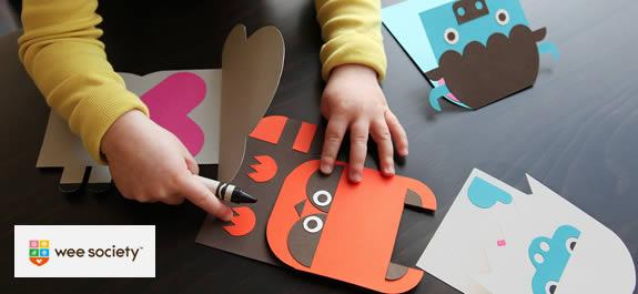 Manualidades: Postales de animalitos para felicitar el San Valentín