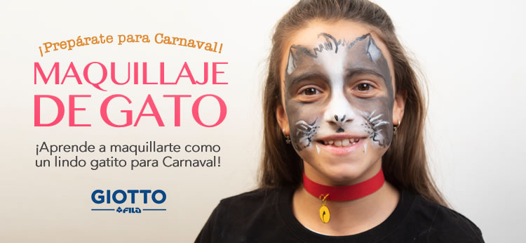 Maquillaje de Gato para Carnaval