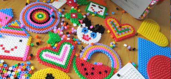 Practica el Pixelart con las manualidades Hama Beads