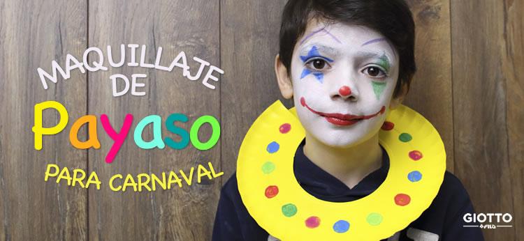Tutorial de maquillaje de Payaso para Carnaval