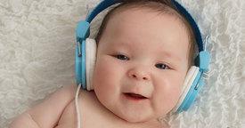 Beneficios de la musicoterapia en bebés