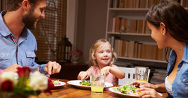 Consejos para una cena saludable en familia