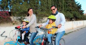 Disfruta en familia con las sillas WeeRide