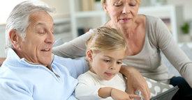 El improtante papel de los abuelos en el entorno familiar