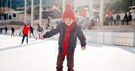 Las pistas de hielo. Una actividad divertida para toda la familia