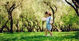 Los espacios verdes para beneficiar el desarrollo de los niños