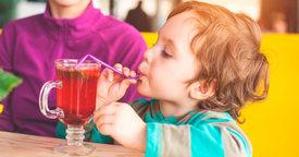 ¿Los niños pueden beber té?