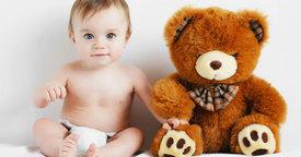 Los primeros juguetes con texturas del bebé