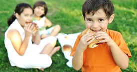 Meriendas saludables para tus hijos