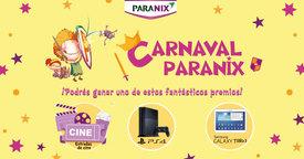 ¡Participa en el Carnaval Paranix y podrás ganar una Play Station 4 o una Tablet de Samsung!