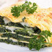 Pasta y lasaña con verduras para los niños