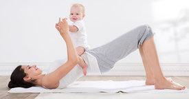 Pilates para mamás y bebés