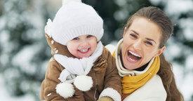 Primer día en la nieve con tu bebé