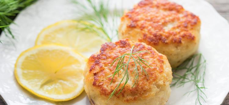 Fishcake fácil para niños