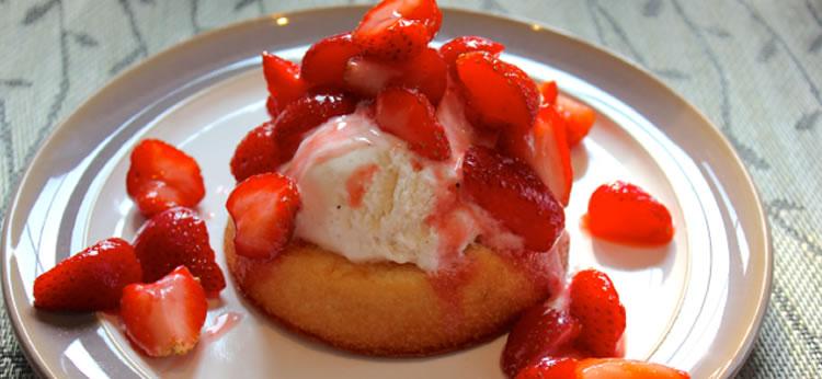 Mini tartas de fresa fáciles