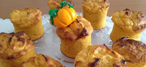Muffins de boniato