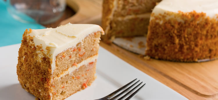 Tarta de Zanahoria para niños