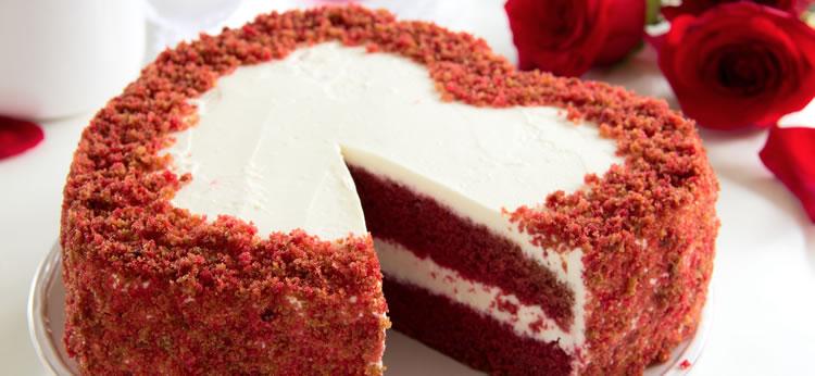 Tarta Red Velvet para San Valentín