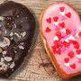 Donuts corazón para San Valentín