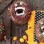 Donuts vampiro para Halloween