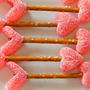 Flechas de Cupido para San Valentín