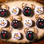 Mini Donuts divertidos de Navidad