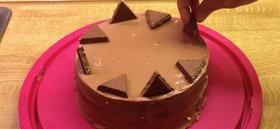Tarta de Toblerone