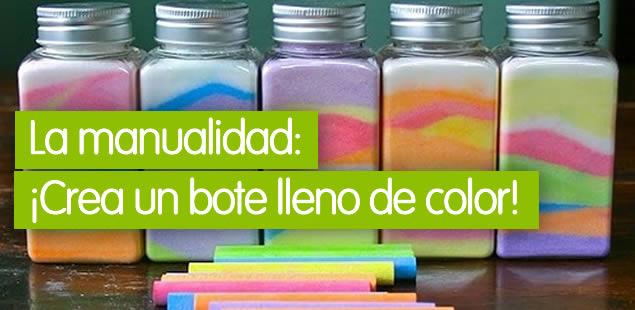 Sales de colores
