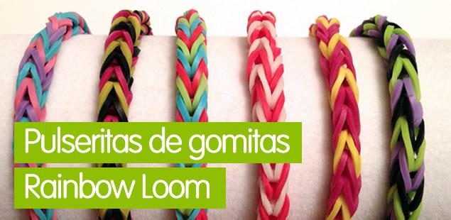 Pulseras de gomitas Rainbow Loom
