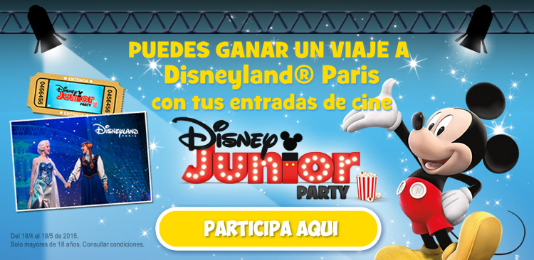 Concurso Disney Junior Party