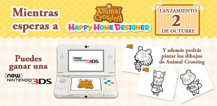 Colorea a los Animal Crossing en Dibujos.net