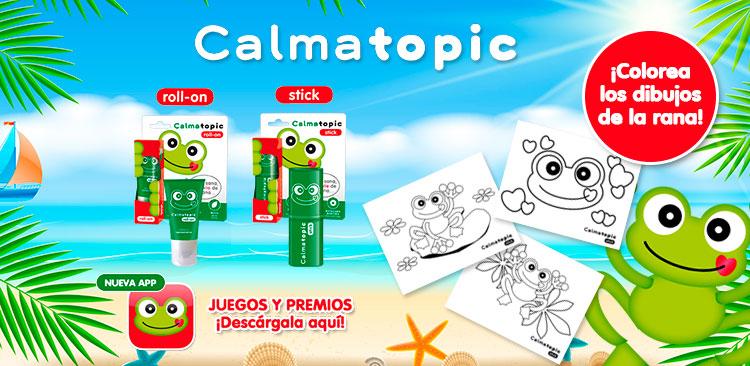 Entra y colorea los dibujos de Calmatopic