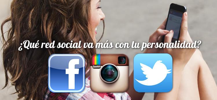 ¿Qué red social va más con tu personalidad?