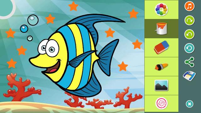 App de Dibujos de Animales para colorear