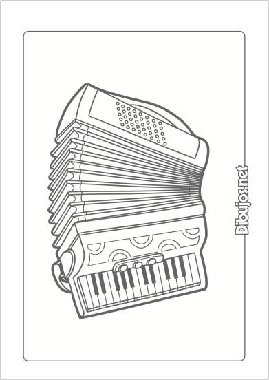 10 dibujos de instrumentos musicales para imprimir y - Dibujos en colores para imprimir ...