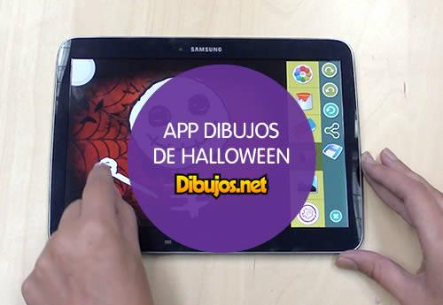 App Dibujos de Halloween para colorear