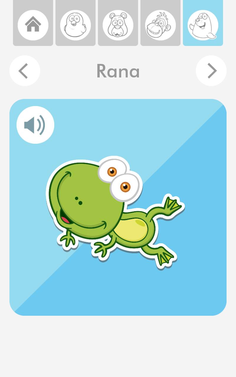 App de Sonidos de Animales de Dibujos.net