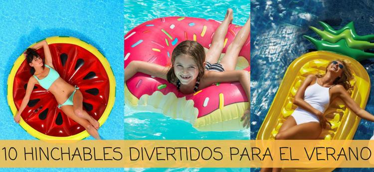 10 hinchables divertidos para el verano