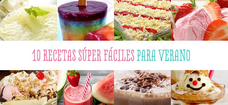 10 recetas para niños súper refrescantes para el verano