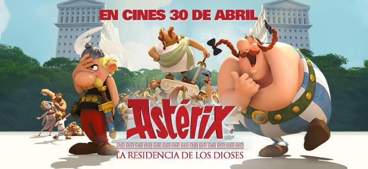 'Astérix: La residencia de los Dioses', estreno en cines el 30 de abril