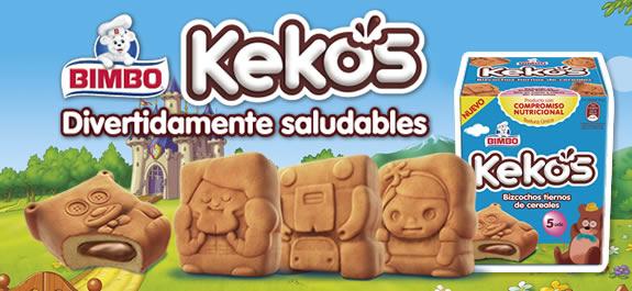 BIMBO presenta a los cuatro personajes de Kekos en su spot de televisión