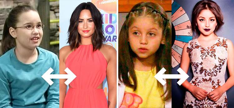 Cómo eran tus actrices favoritas de Disney Channel de pequeñas ¡Algunas han cambiado mucho!