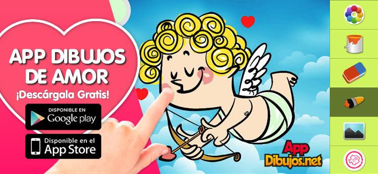 Descubre la App de Dibujos de Amor de Dibujos.net
