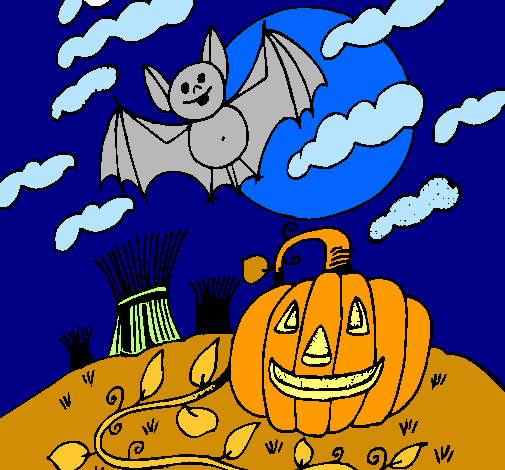 ¡Halloween en Dibujos.net, Pequeños artistas!