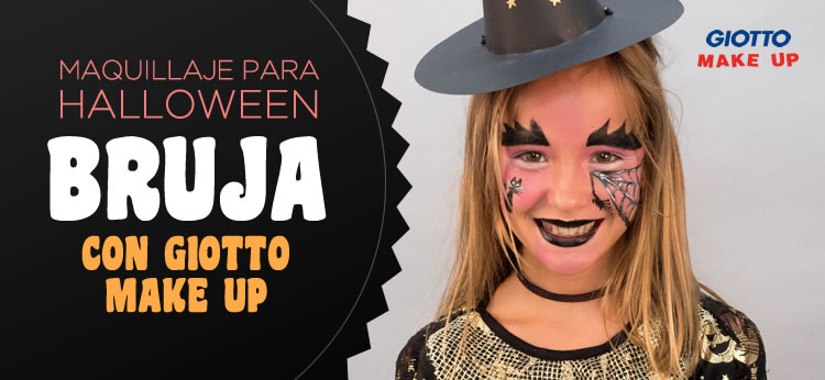 Maquillaje para Halloween: Bruja con Giotto Make Up